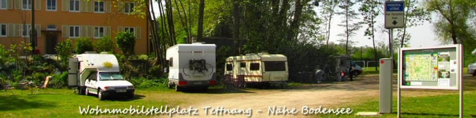 Wohnmobilstellplatz Tettnang, Nähe Bodensee