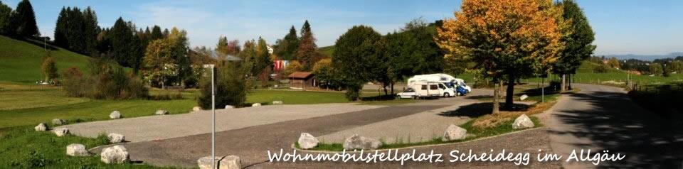 Wohnmobilstellplatz Scheidegg im Allgäu