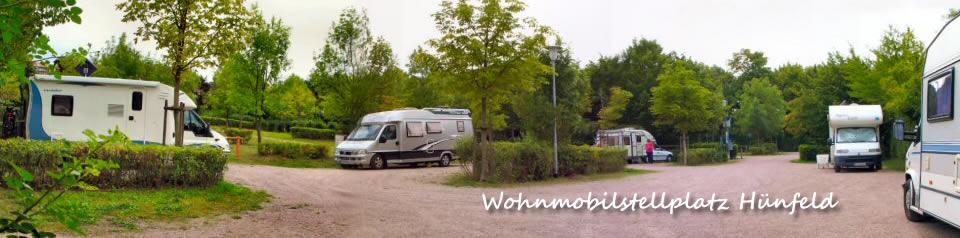 Wohnmobilstellplatz Hünfeld, Nähe Fulda