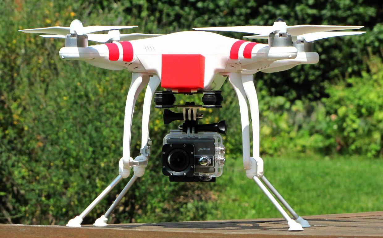 Meine Kamera-Drohne DJI Phantom 1
