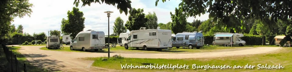 Wohnmobilstellplatz Burghausen a.d. Salzach