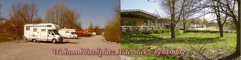 Wohnmobilstellplatz Aiderblick Rendsburg