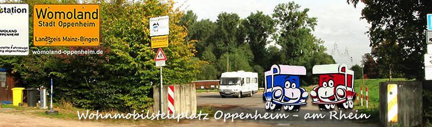 Logobild Wohnmobilstellplatz Oppenheim