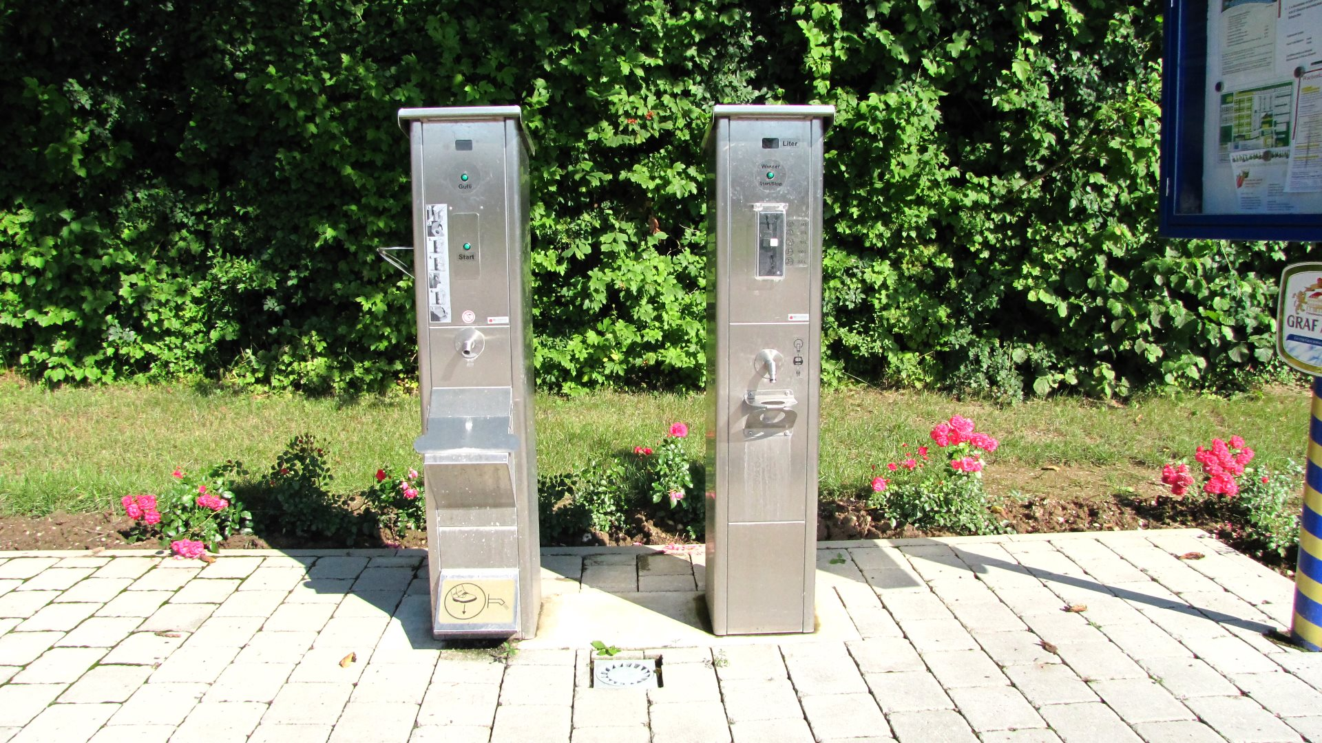 Frischwasser & Entsorgung