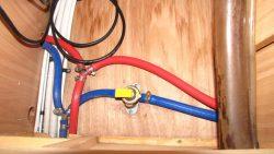 Absperr-/Ablassventil vom Boiler